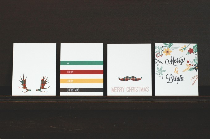 Urban Peasant Christmas Card Line Up 2013