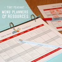 Tiny Peasant Pantry Menu Planners Badge