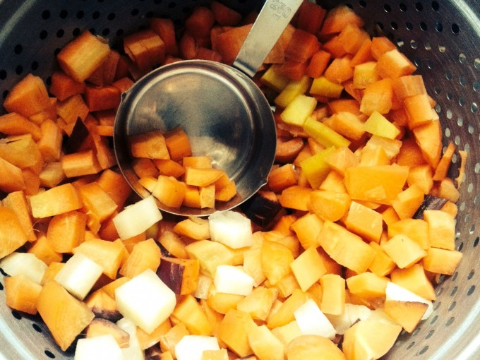 chopped carrots 2