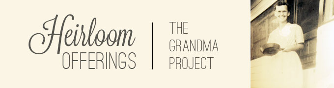 grandma project banner newest