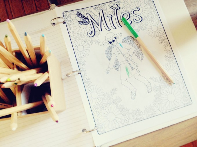 miles colouring