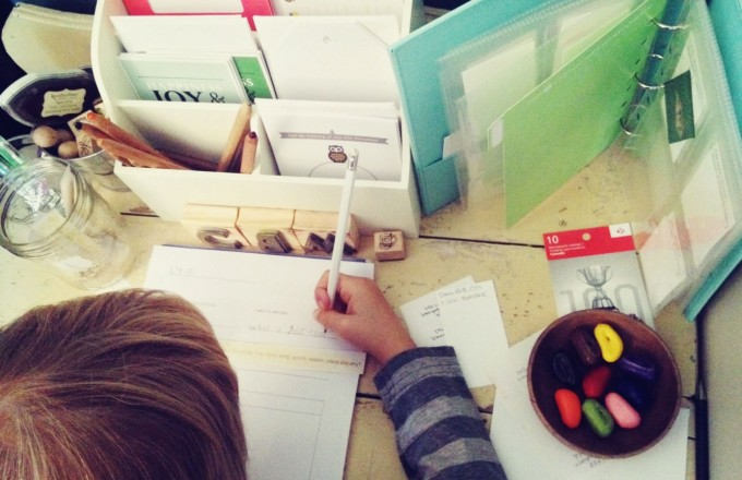 Writing With Kids Diy Stations