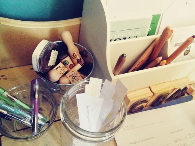 tiny writer station goods