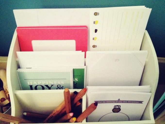 tiny writer stationery