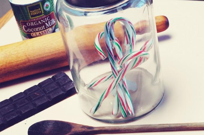 candy cane fudge ingredients