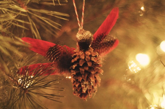 pine cone angel on tree copy