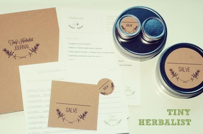tiny herbalist sign photo