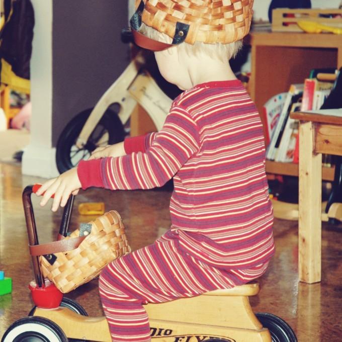 radio flyer basket head