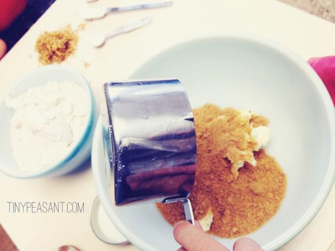 tiny peasant calendula muffins sugar