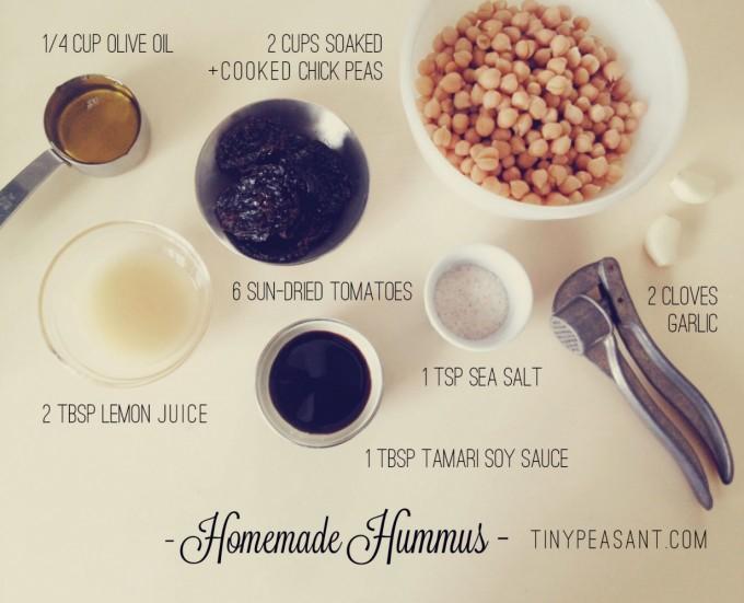 how to make hummus simple