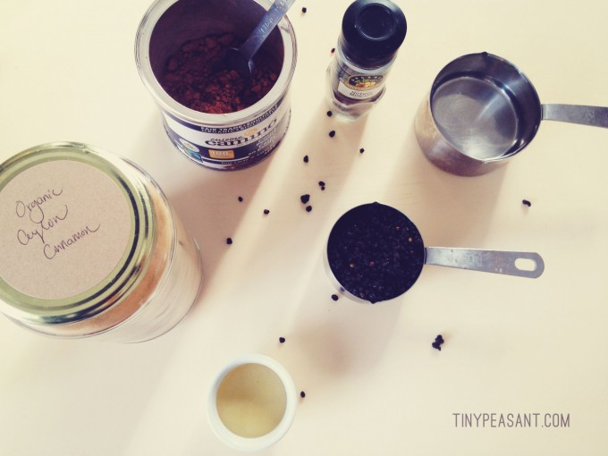 chocolate elderberry syrup tiny peasant