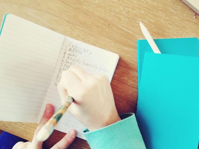 gratitude journals feb