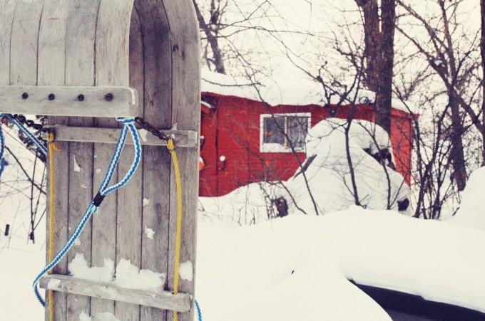lakehouse sled
