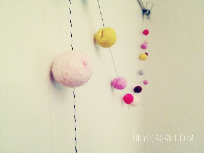 tiny peasant felted garland hanging3