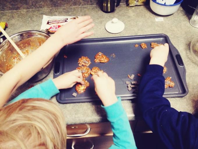 tiny peasant homeschool co-op baking