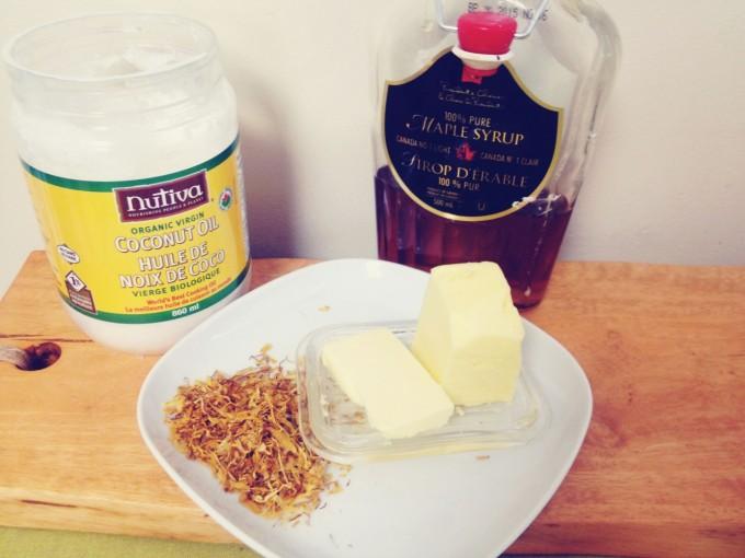 tiny peasant maple calendula popcorn ingredients