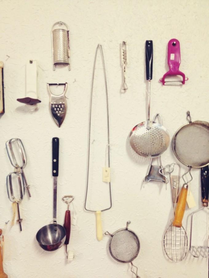 vintage in the village kitchen tools