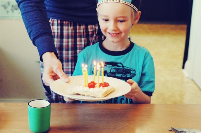 birthday spelt waffle