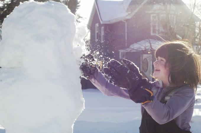 bre snow smiles