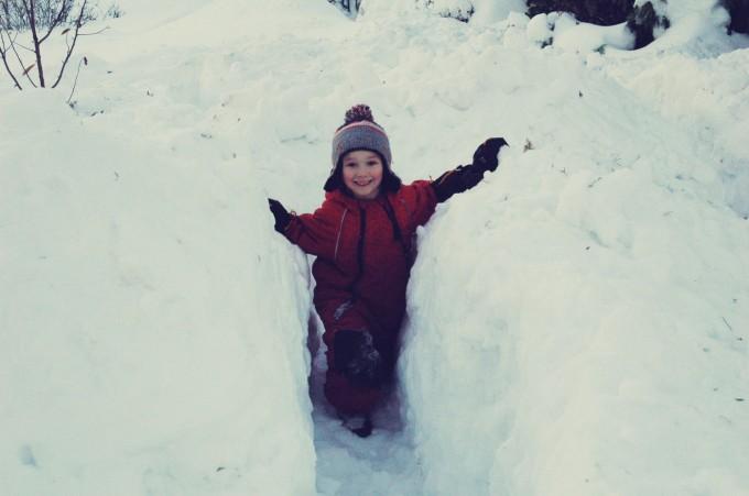 snow maze smiles