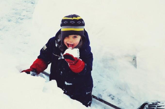 snow maze tasty