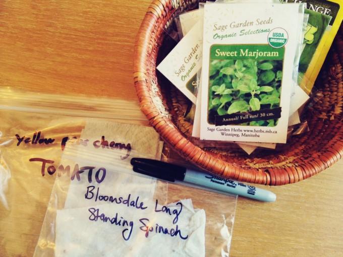tiny peasant germination test basket