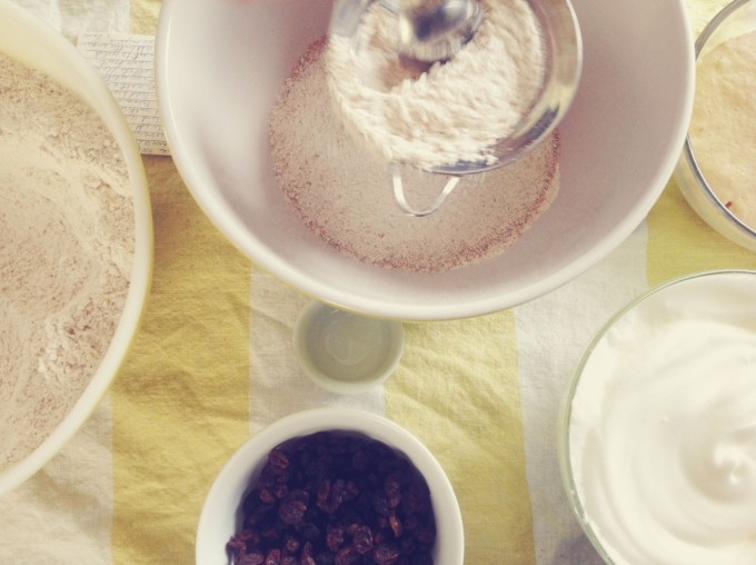 tiny peasant paska sift flour