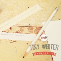 tiny writer badge new