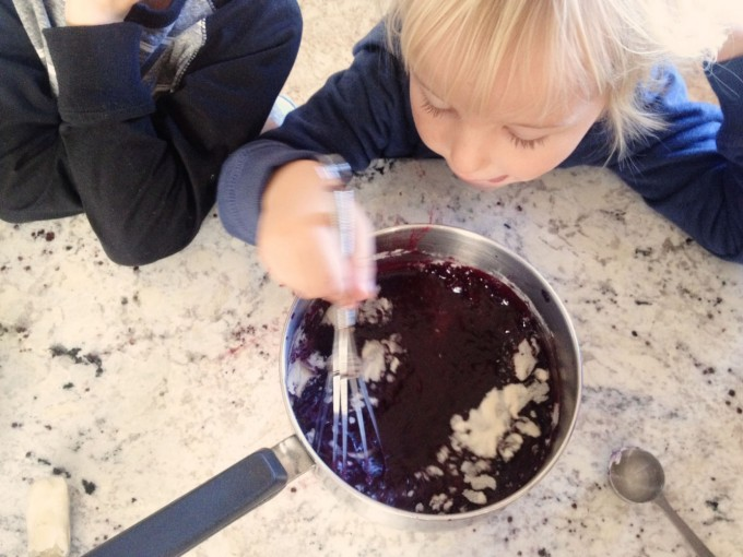 TP mixing in the gelatin