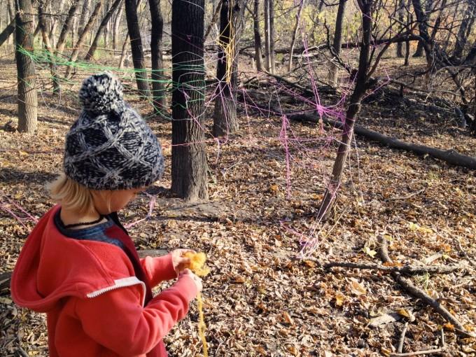 Forest Yarn Blast Clean Up