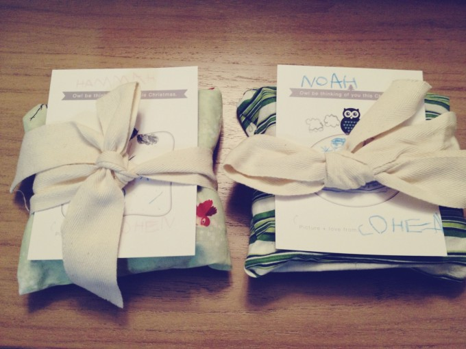fabric gift bags tp cards