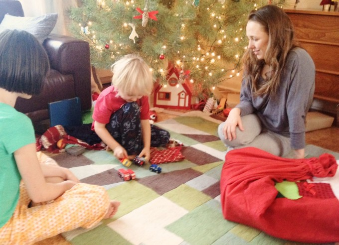 opening gifts 2014