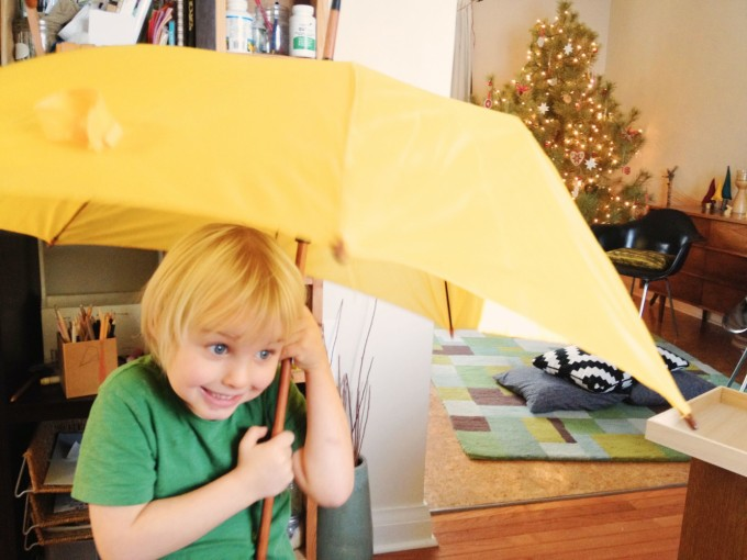 TP boy umbrella