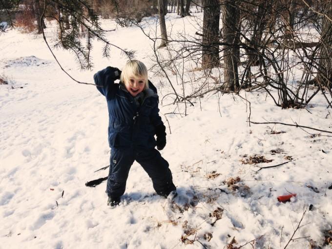 TP skip day snowball fight