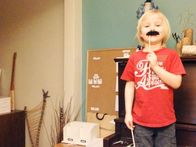Milo 5 Mustache