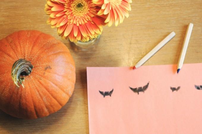 TP halloween decoration crafting