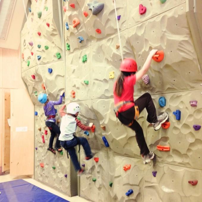 TP co-op climbing