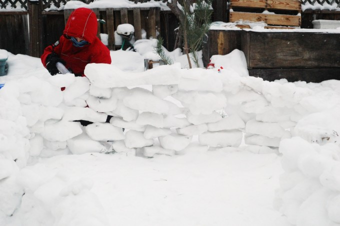 tp snow brick fort