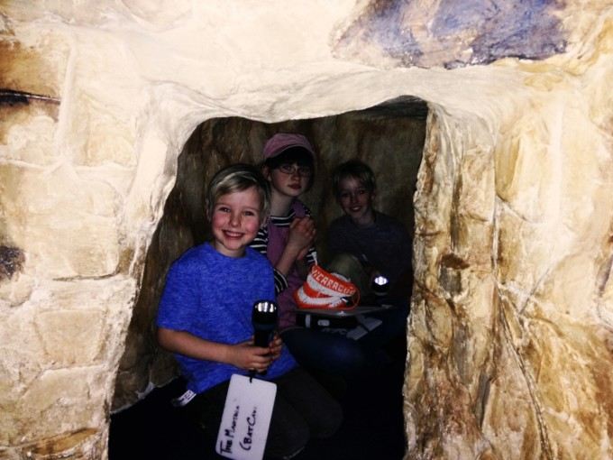 TP museum cave