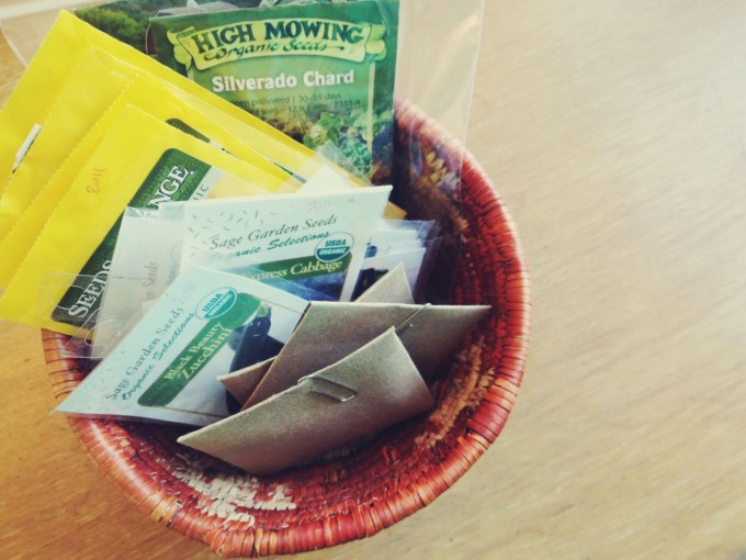tiny peasant seed basket