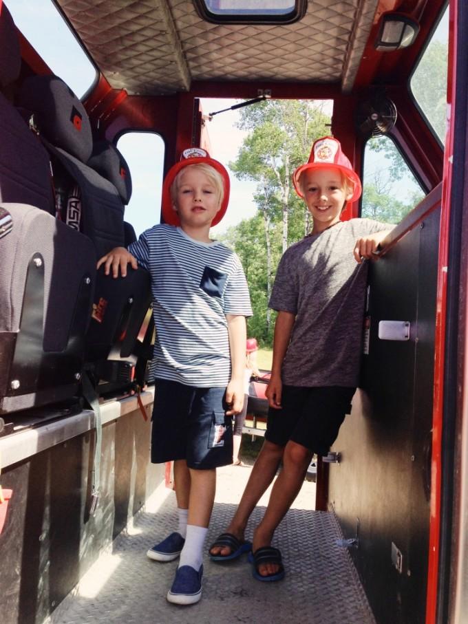 TP fire station kids